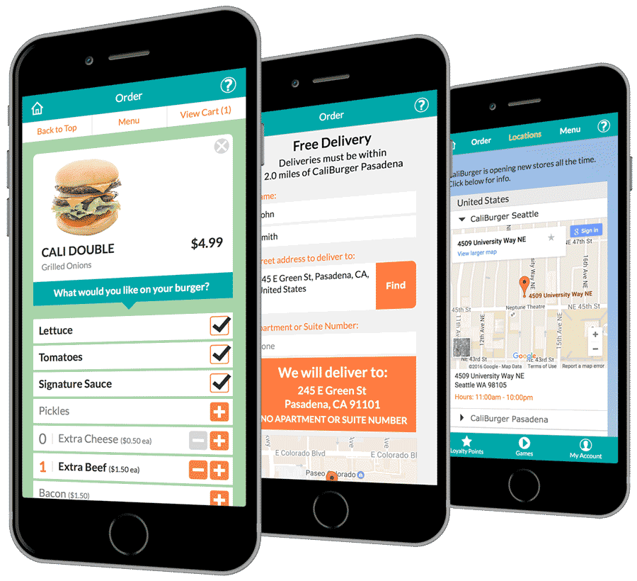 CaliBurger mobile app