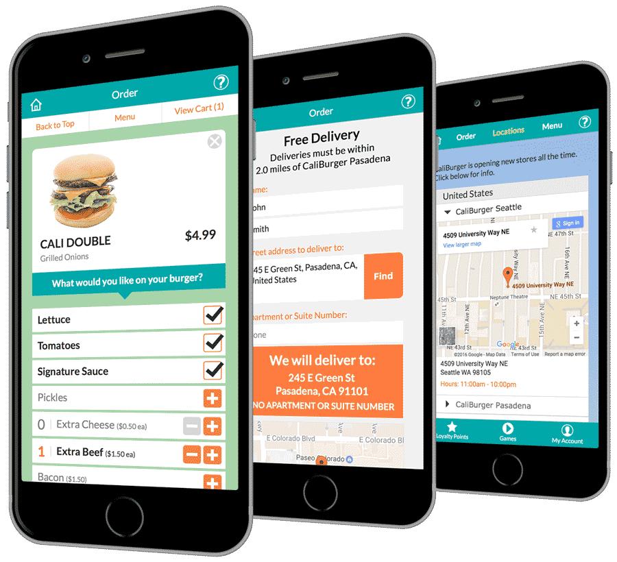 CaliBurger mobile app